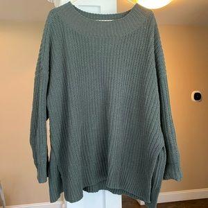 Aerie Campfire Oversize Chenille Sweater XL